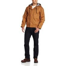 Men's Flame Resistant Hooded Jacket