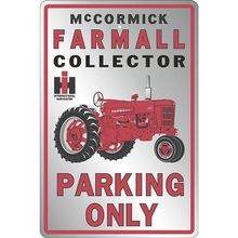 Parking Only Collector Metal Sign