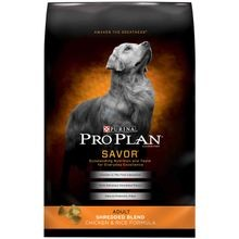Pro Plan Savor Adult Shredded Blend Chicken & Rice Formula Dry Dog Food