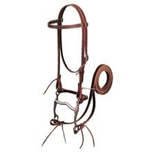 Latigo Leather Browband Bridle