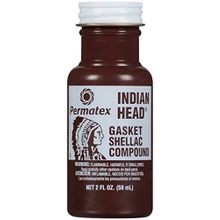 Indian Head Gasket Shellac Compound - 2 oz