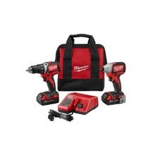 M18 Compact Brushless Drill/Brushless Impact Driver Combo Kit