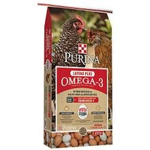 Layena Plus Omega-3 Chicken Food, 40 lbs