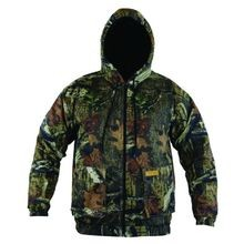 Men's Infinity Twill Insulated Hooded Jacket
