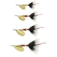 Aglia Dressed Treble 1/4-Ounce Silver/Brown Tail Lure