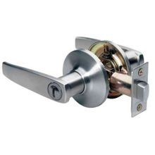 Straight Lever Style Keyed Entry Door Lock