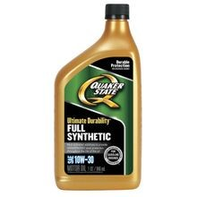10W30 Full Synthetic Motor Oil - 1 Quart