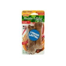 Healthy Edibles Turkey and Apple Flavored Dog Treat Bones