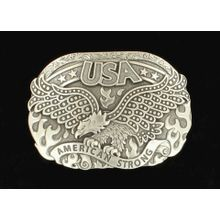 America Strong Soaring Eagle Buckle
