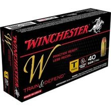 40 Smith & Wesson Full Metal Jacket Ammunition