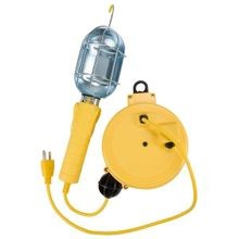 Retractable Incandescent Work Light