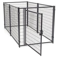 4'H x 5'W x 10'L Modular Kennel Welded Wire Kit