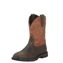 Ariat Men S Groundbreaker Wide Square Steel Toe Work Boot
