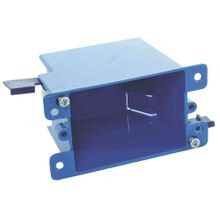 Zip Box® Blue™ 1-Gang Outlet Switch Box