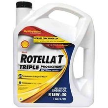 Rotella T Triple Protection 15W40 Heavy Duty Diesel Engine Oil