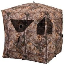 Hunting Brickhouse Ground Blind, Camo Pattern