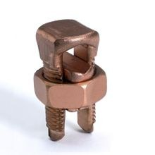 BURNDY® KS20 Compact Split Bolt Connector, 1 14 to 4 AWG Conductor, 0.65 in L, Copper