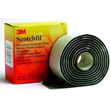 3M, Scotchfil™, Electrical Insulation Putty, Rubber, Black, 1-1/2 Inch x 5 ft, 125 mil