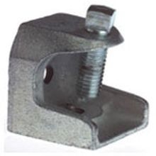 T&B® 503-SC Beam Clamp, 1 in THK, 1300 lb Load, Malleable Iron, Electroplated
