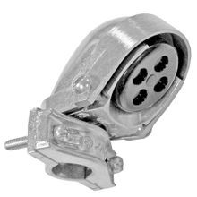 Appleton® NEER™ ECO-105 Clamp-On Service Entrance Cap, 2 in, 6 (2) 3/4 in, (3)1 in, (1) 1-5/16 in Holes, Aluminum