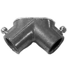 Appozgcomm NEER THL-500 Corner Met Pulling Elbow With Cover, 1/2 in Trade, 90 deg, Die Cast Zinc