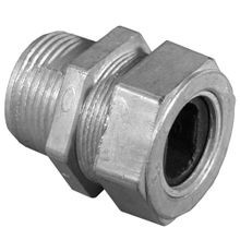 Appozgcomm WC-1252 Service Entrance Cable Connector, 1-1/4 in Knockout, Die Cast Zinc