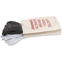 Cementex IGK2-14-10B Class 2 Insulated Gloves Kit, SZ 10, Black, Rubber
