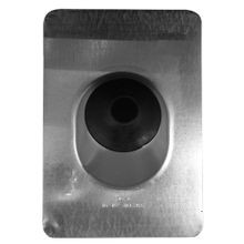 Appozgcomm NEER™ NC-1071 Type NC Service Entrance Flashing, 14-1/2 in, 10-3/4 in, 2-1/2 to 3-1/2 in Pipe, Steel