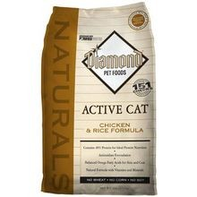 Active Cat Chicken Meal and Rice Formula Dry Food - 6 lbs