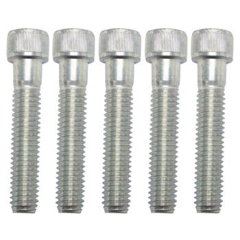 "3/8-16 X 2"" Zinc-Plated Steel Socket Head Cap Srew (5 pack)"