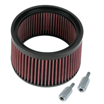 "1"" Taller Pleated Stealth Air Filter Kit"