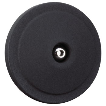 Domed Bobber Cover For S&S<sup>®</sup> Stealth Air Cleaners -  Wrinkle Black
