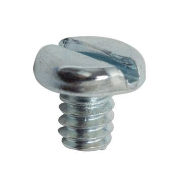 "10-24 X 1/4"" Zinc-Plated Steel Pocket-Hole Screw"