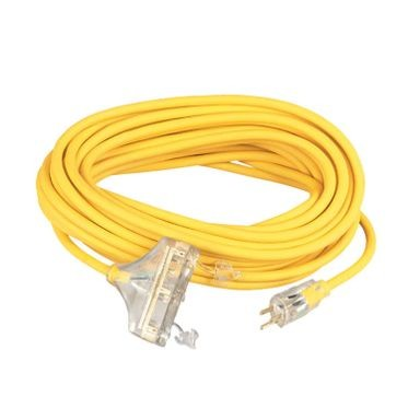 Polar Solar 12 Gauge Tri-Source Extension Cord 100 Feet