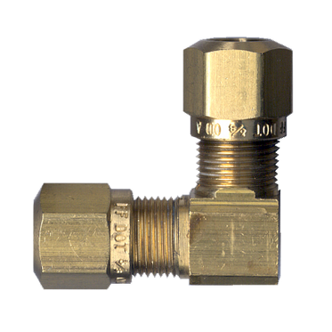 DOT 90° Brass Fitting Elbow 3/8