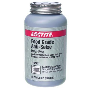 Food Grade Anti-Seize 8 oz Brush Top