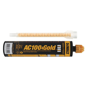 AC100+ Gold QuickShot Epoxy with Nozzle 10 oz.