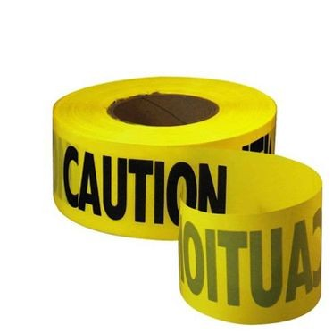 Yellow Caution Tape 3