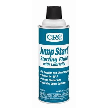 CRC Jump Start Starting Fluid with Lubricity 11 Fluid Ounces