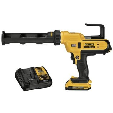 DeWalt 20V 10oz/300ml Adhesive Gun Kit