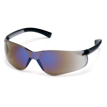 Ztek Blue Mirror Lens/Blue Frame Safety Glasses