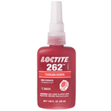 262 Threadlocker Permanent 50 ml Bottle