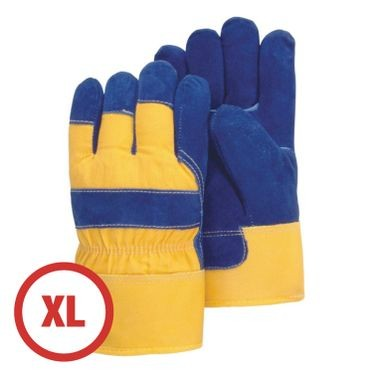 Heavy Duty Pile Lined Winter Work Glove XL