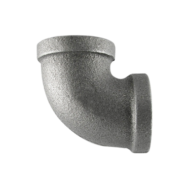 90° Black Malleable Elbow 3/4