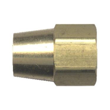 Brass Long Compression Nut 3/8