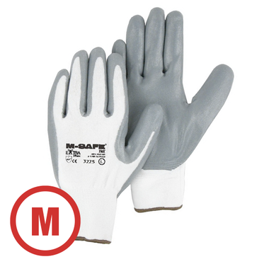 Foamed Nitrile Palm Coated Glove Medium - 12 Pairs Per Bag