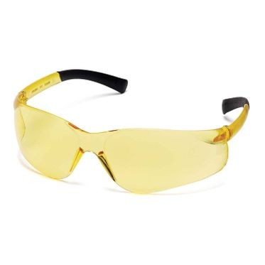 Ztek Amber Lens & Frame Safety Glasses