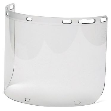 Clear S1020 Polycarbonate Face Shield