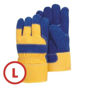 Heavy Duty Pile Lined Winter Work Glove Large