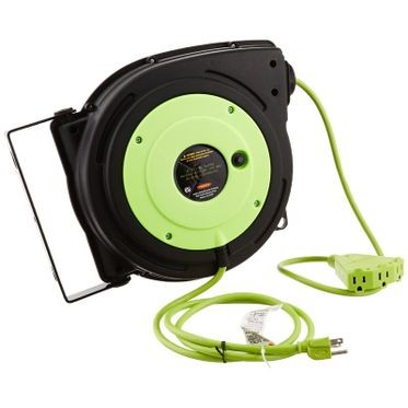 Legacy Retractable Extension Cord Reel 50 Feet